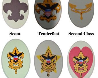 Boy Scout Badge Die Cuts