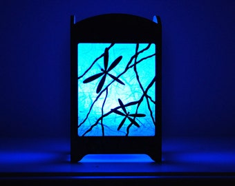 Dragonfly Light Box - Multicolor LED Candle