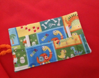 Matching Dinosaur CHALK ROLL HOLDER-Holds 8 pieces of Chalk (not incl.)- New!