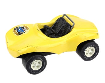 Vintage Tonka Yellos Conertible Dune Buggy Baja Racer / Tonka Pressed Metal Toy Car / F670..
