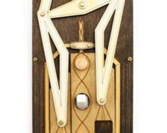 Steampunk Light Rig Switch Plate