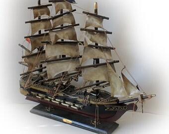 Large Model Sailing Ship U.S.S. Constitution