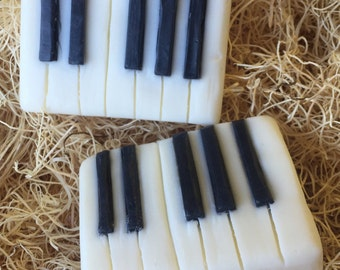 Handcrafted Piano Soap, Great Gift for Musician