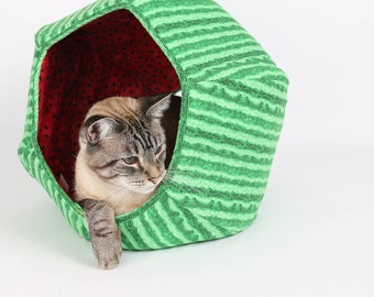 Watermelon Cat Cave the Cat Ball Cat Bed Watermelon Cat Bed