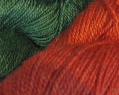 Mirasol NUNA Yarn Wool Silk Viscose Blend Fiber Peru Hank Knitting Crochet Weave Spinning