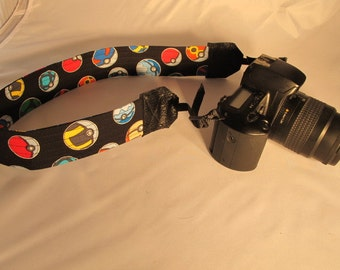 Pokeball Camera Strap  Pokemon Gaming Video Game