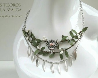 Woodland tribal necklace