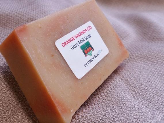 ORANGE VALENCIA E/O-100 % Natural Bath & Shower Soap Bar