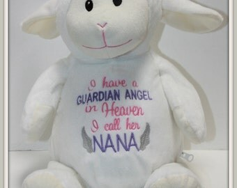 Guardian Angel - I have a Guardian Angel, stuffed animal