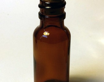0.5oz Amber Glass Bottle with Cork