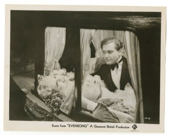 "Evensong"" - 1934 Film - Evelyn Laye - Vintage 8x10 Photograph"