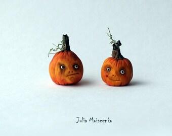 Miniature Halloween Pumpkins #2