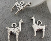 Shop sale-30 pcs Llama charms-T0512