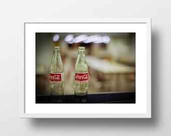 Coca Cola print Coke art Coca Cola art Coca Cola poster Soda sign Coke photo Coca Cola photo Soda photo Pop Pop Film art Film print