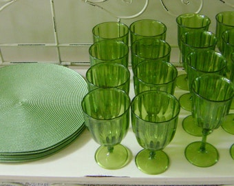 Placemat and Beverage Set