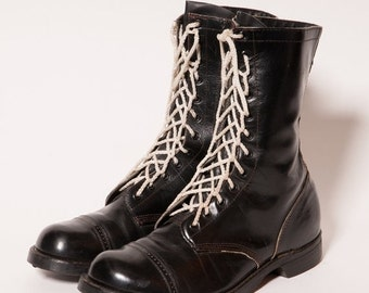 30% OFF Men's Black Combat Boots Size 11 E