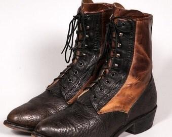 30% OFF Two Tone DURANGO Lacer Boots Men's Size 10 .5 D