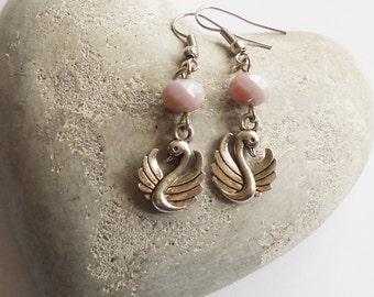 Cute Swan Earrings