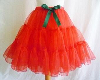 Crinoline Petticoat, Christmas Petticoat.