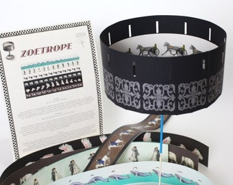 Zoetrope 6 strip