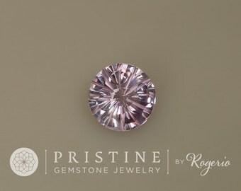 Amethyst Round Shape Fancy Cut February Birthstone Gemstone for Fine 14K Gold Pendant