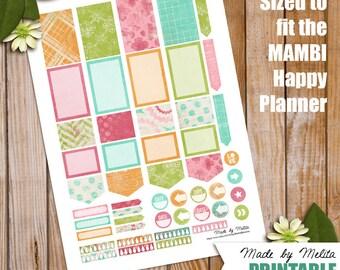 Happy Planner Printable - HP17