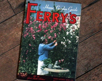 1950's Vintage Ferry Seed Catalog