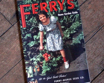 1950's Vintage Ferry's Seed Catalog