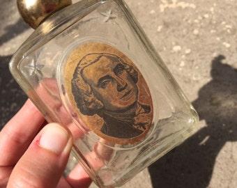 George Washington Cologne Bottle Avon