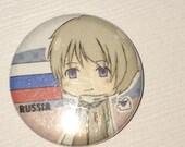 Hetalia Chibi Russia - 1 inch Button Badge