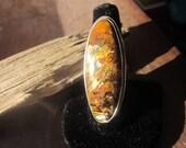 SALE  Chatoyant Pietersite Ring