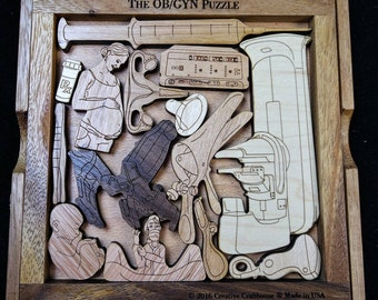 The OB/GYN Obstetrics and Gynecology Puzzle