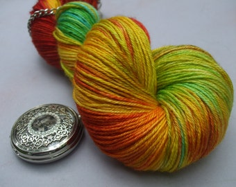 Decadent 4ply Sock & Shawl Yarn. Macaw