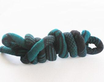 Kente cord, Kente fabric, African rope, rope necklace, ethnic jewlery, tribal fabric, tribal jewlery, wax block fabric, necklace cord k8