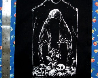 WITCH mother nature as a witch BACKPATCH nature cults unite punk eerie and neat