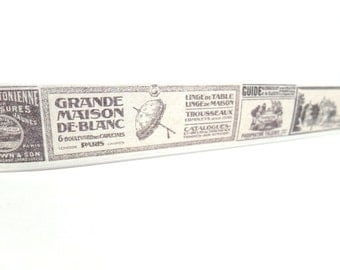 Vintage French Signs Washi Tape 20mm x 10m