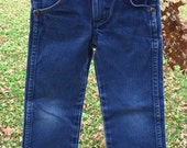 Children's Wrangler Jeans / 100% cotton / Made in the USA / Toddlers Size 5 Slim