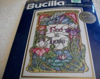 God Is Love Cross Stitch Kit