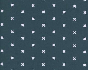 XOXO in Sea Monster, Cotton+Steel Basics, Rashida Coleman Hale, RJR Fabrics, 100% Cotton Fabric, 5001-015