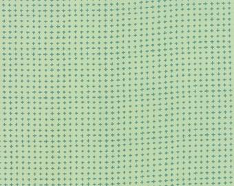 Tucker Prairie Tiny Crosses in Winter Sage, One Canoe Two, Moda Fabrics, 100% Cotton Fabric, 36006 22