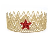 Wonder Woman inspired || Paxton ||full size lace crown || photography prop|| Toddler-Adult || custom sizes