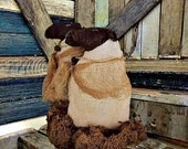 Primitive Sheep   Handmade Sheep   Sheep Shelf Tuck   Sheep Centerpiece   Primitive Sheep decor   Folk Art Sheep