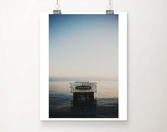 Nice photograph pier photograph ocean photograph beach photograph beach house decor ocean print abandoned pier print French decor