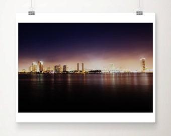 san diego photograph san diego skyline photograph california photograph california print pacific ocean photograph san diego print