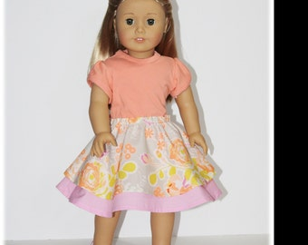 A Little Bit of Whimsy 18in and 16in doll PDF pattern