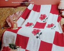 20%OFF The Needlecraft Shop PROMENADE ROSE By Sandra Miller Maxfield - Crochet Afghan Collector's Series Pattern