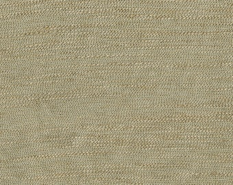 Popular Faux Linen Upholstery Fabric - Coordinates Traditional to Modern - Soft hand feel - Color: Emerse Honey  - per yard