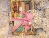 Marie Antoinette Junk Journal Shabby Chic
