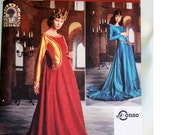 Pattern Medieval Costume Dress Misses Size N 10 12 14 Simplicity Uncut Unused