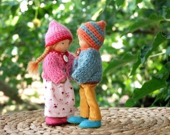 Doll house dolls - boy and girl